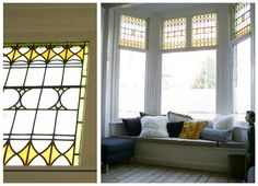 Window Benches, Bay Window, First Home, Home Bedroom, My Dream Home, Living Room Designs, Sweet Home, New Homes, Windows