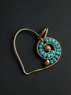 Heart Pendant with beads
