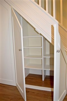 How to Make Use Of Space Under Stairs . How to Make Use Of Space Under Stairs. 18 Useful Designs for Your Free Under Stair Storage Under Under Basement Stairs, Storage Under Staircase, Under Stairs Storage Solutions, Closet Under Stairs, Space Under Stairs, Under Stairs Cupboard, Under The Stairs, Under Staircase Ideas, Shelves Under Stairs