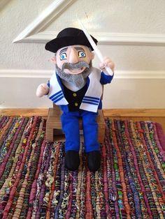 Mensch on a Bench! (the Jewish alternative to Elf on a Shelf)  CLAS. SIC.