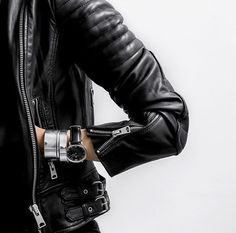 Figtny leather jacket
