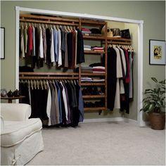 open closet storage ideas