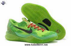 Grinch Christmas Womens Nike Kobe 8