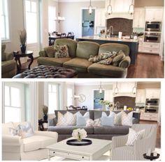 Peacefuul Home Decor Kelly Demma Interiors E Design, Interior Design, Peaceful Home, Sofa, Couch, 3d, Living Room, Furniture, Home Decor