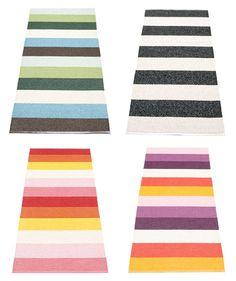 Stripe carpets Creative Inspiration, Interior Inspiration, Striped Carpets, Rag Rugs, Carpet Flooring, Loom Weaving, Weave, Kids Rugs, Design