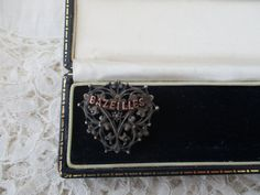Antique french brooch 1910 by Nkempantiques on Etsy