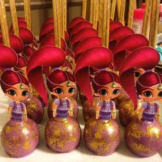 Image result for shimmer and shine cupcake