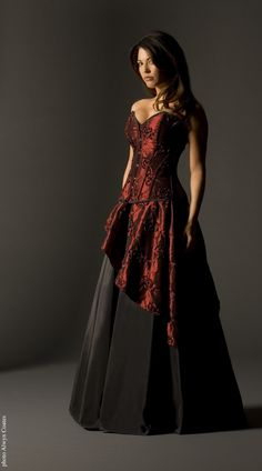Siren and Paradise Gothic Dress By Vollers Corsets | Since 1899