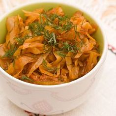 Young Cabbage with Tomatoes & Dill – Polish Way Sour Cabbage, Sauteed Cabbage, Cabbage Head, Cabbage Patch, Cabbage Recipes, Meat Recipes, Cooking Recipes, Vegetarian Recipes, Kitchens