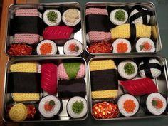 (4) Name: 'Crocheting : Sushi Crochet Pattern 10 in 1 AMAZING