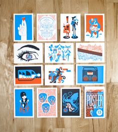 Promotional Cards from Bandito Design Co. found on FOR PRINT ONLY (FPO).