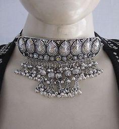 Metal Tassel Ethnic Tribal Necklace Choker Gothic Boho Women Hot Fashion Jewelry
