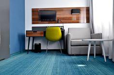 hotel rooms, shaw floors