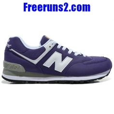 a4b76e87d264 New Balance 574 Five Rings series blanc violet Chaussures Hommes New  Balance 574