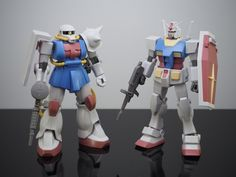 G-リミテッド: Gallery: HGUC 1/144 Gundam & Zaku Mass Production Type (Gundam…