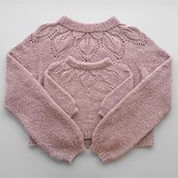 Hvordan strikke en genser ovenfra og ned - DROPS Leksjoner / Lær å strikke Drops Design, Knitting Patterns Free, Knit Patterns, Free Knitting, Baby Knitting, Free Crochet, Knit Crochet, Drops Baby, Outfits
