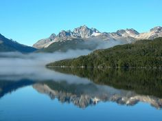 Lago La Plata, Chubut, Patagonia Argentina India Eisley, Other Ways To Say, Water Reflections, Water Waves, Mirror Image, Rio, Natural Beauty, Around The Worlds, Mountains