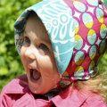 ママの使いやすさとベビー・こどもの動きをとことん配慮!おおきなつばのリバーシブルサンハット・日よけ帽子