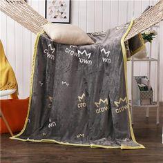 iDouillet Cartoon Soft Coral Fleece Blanket on the Bed Boy Batman Superhero In Training Throw Travel Home For Adults & Kids Gray