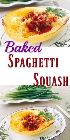 Baked Spaghetti Squash With Simply Awesome Filling