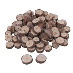 For 100pcs 1-2cm Wood Slices Round Log Discs for Arts & Crafts & Ornaments WS2190 | Fruugo HU Diy Wreath, Wreaths, Wood Slices, Arts And Crafts, Personalized Items, Ornaments, Crown Flower, Door Wreaths, Wood Rounds