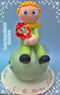 Topo de bolo pequeno Príncipe =) | by Sonho Doce Biscuit *Vania.Luzz*
