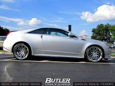 Bad ass Cadillac CTS Coupe! I am usually not a caddy lover, but THIS I would get :)