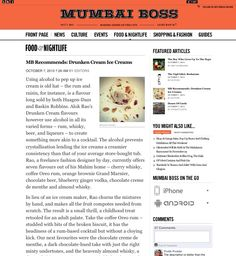 Mumbai Boss Recommends: #DrunkenCream #Ice #Creams