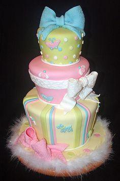 Dream baby shower cake