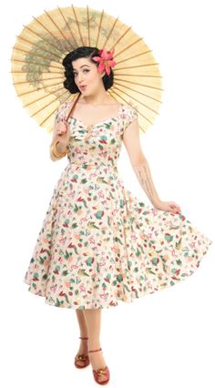 COLLECTIF DOLORES DOLL DRESS
