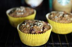 Frühstück to go - Vollkornmuffins mit Quinoaflocken und Beeren