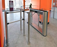 TTD-03.1S box tripod and BH-02 railings, Russian State Library for Young Adults, Moscow, Russia
