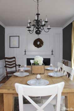 Simple Spring Tour - dining room
