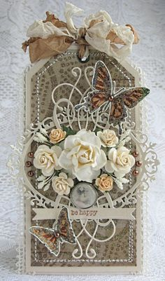 I wouldn't ever make this, I'm too stingy with my supplies, but it is gorgeous and must be looked at once in awhile...