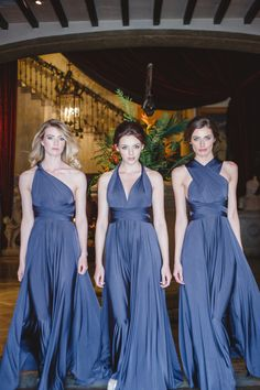 Bridesmaid Inspiration - twobirds Bridesmaid | Melle Cloche | Multiway, convertible, twist wrap dress