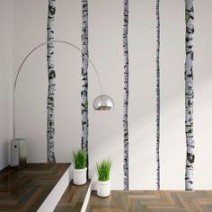 Birch Tree, Adhesive Wall Decal