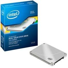 """Intel Corp., 320 Series 80GB SSD Reseller (Catalog Category: Hard Drives & SSD / SSD Drives) by Intel. $190.79. Intel 320 Series 80GB SSD Reseller box with bracket and internal SATA data and power cables; Gen3, MLC, 2.5"""" form factor, SATA2 (3Gb/s), 9.5mm. Includes SSD drive, warranty, sticker, QuickInstall Guide with web links, Mini CD-ROM with installation and w"""