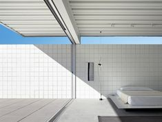 Desert House in Palm Springs, California, by San Francisco based architect Jim Jennings, designed as his personal retreat in Barcelona Architecture, Architecture Details, Interior Architecture, Interior Design, Minimalist Architecture, Residential Architecture, Landscape Architecture, Modern Interior, Palm Springs California
