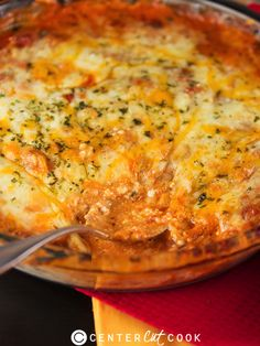 Four Cheese Lasagna Dip.