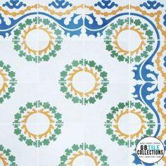Encaustic Cement Tile - Sevilla-B