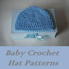 free crochet baby hat patterns-free crochet hat patterns
