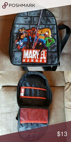 Marvel Heroes Backpack Marvel Heroes Backpack Marvel Accessories Bags
