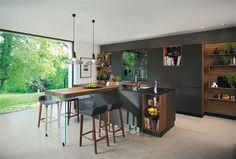 Fotogalerie: Kuchyňský ostrůvek ve tvaru písmene Y je příkladem, že v kuchyni se má nejen...