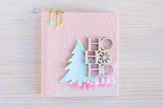 Cómo hacer un álbum cosido de Navidad, ve más en nuestro blog http://vivescrapbook.com/como-hacer-un-album-cosido-de-navidad/