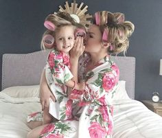 Baby Mommy Matching Robe Kimono Robes Perfect Baby by silkandmore - It's a Girl Mom Daughter Photography, Mommy Daughter Pictures, Mommy And Me Photo Shoot, Kids Robes, Maternity Gowns, Mom And Baby, Flower Girl Dresses, Outfit, Inspiration