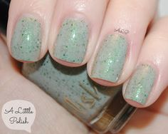 A Little Polish: Pahlish - Coney Island Queen Collection - Singing in the Garden