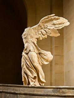 LaVictoriade Samotracia, icono de la Grecia clásica