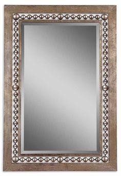 Uttermost Fidda Antique Silver Mirror