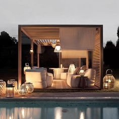 Exteta are known for their high end structures such as gazebos and tea houses…
