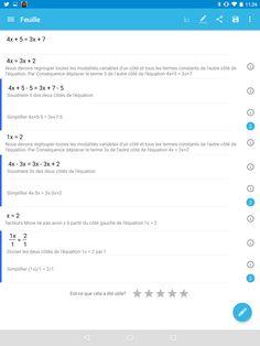 Malmath: l'application android qui résout fonctions et équations en expliquant comment